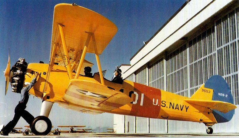 Stearman Owner Caters to Flying War Vets