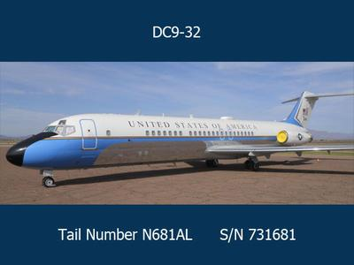 Former US Government VIP Jet to be Auctioned