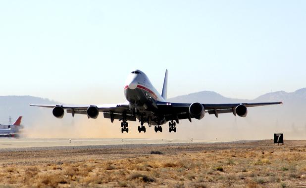Boeing Tests 747-8 Engine, Fuel System Updates