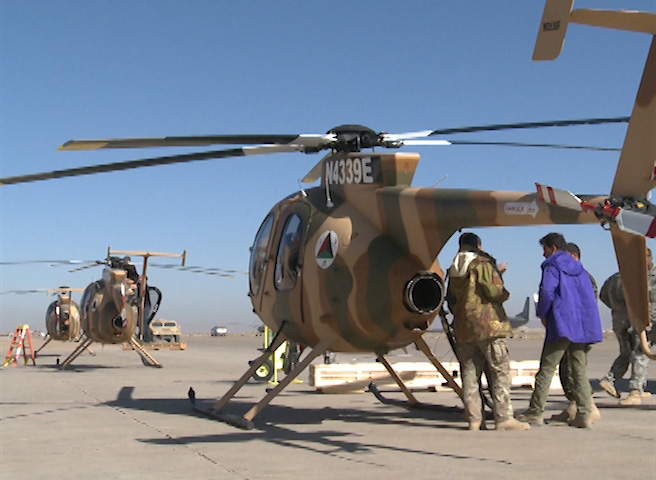 Afghan Air Force Struggles to Take Off