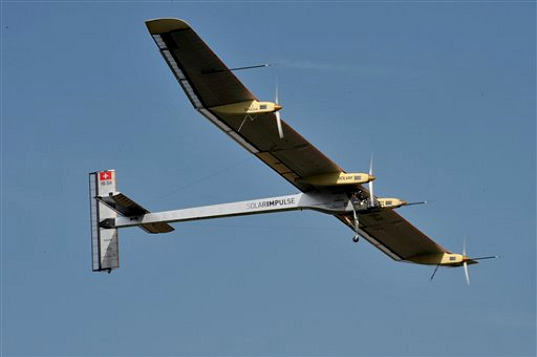 Solar Impulse Heads East to Texas Today