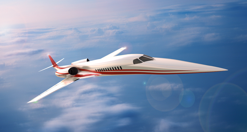 Aerion Still Pinning Hopes on Supersonic Biz Jet