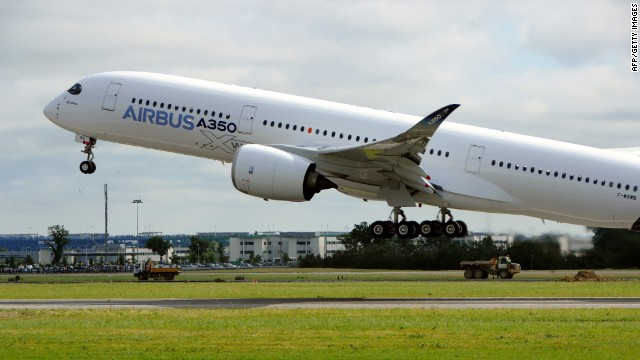 Newest Airbus Airliner Makes First Flight