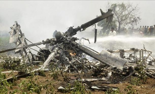 South American Air Force Chief Dies in Crash