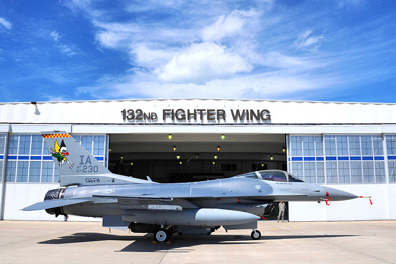 Iowa Guard Pilots Begin Taking Last Flights on F-16s