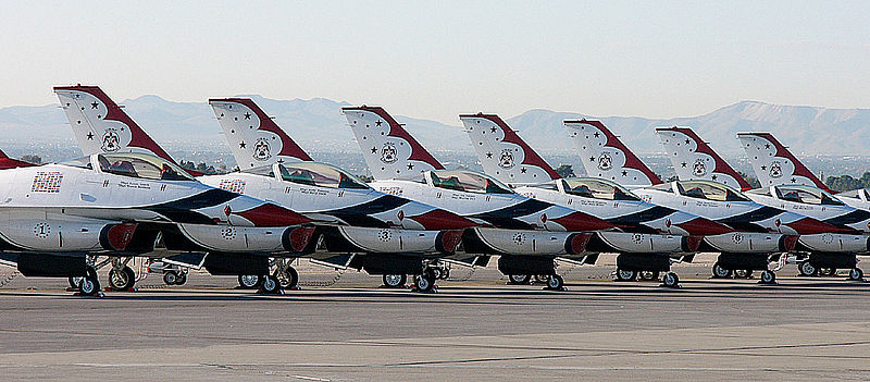 Ohio Air Show Faces Uncertain Weekend Without Thunderbirds