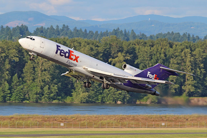 FedEx Donates 727 to S.C. Aviation School