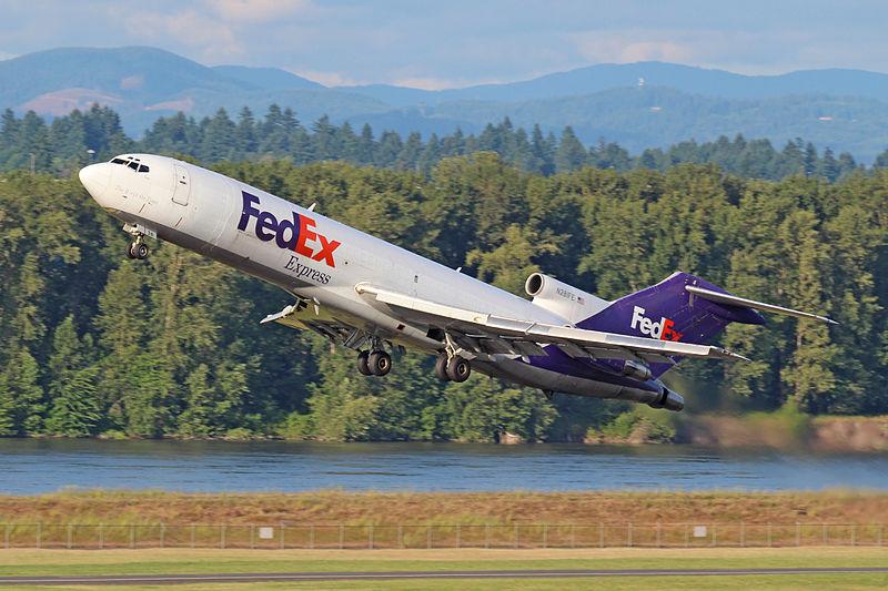 FedEx Donates 727 to S.C. Aviation School