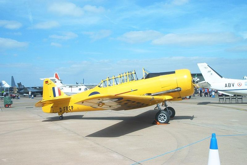 Harvards, Snowbirds Headline Canadian Air Show