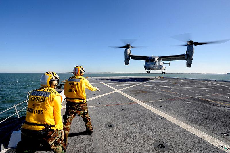 V-22 Ospreys Head to UK