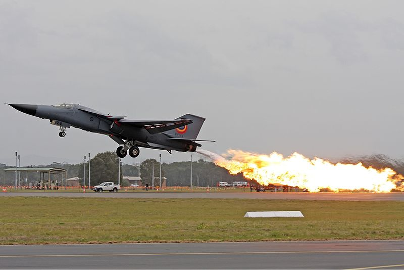 RAAF F-111 Begins Tour Enroute to Museum