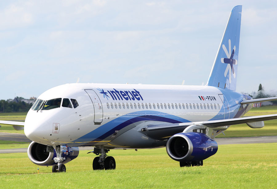 Mexican Airline to Operate First Russian Regional Jet in West
