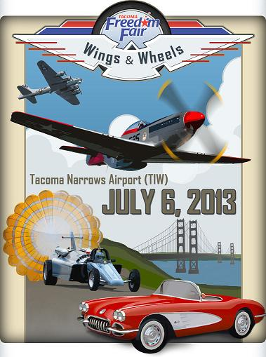 Airplanes to Entertain During Wings & Wheels Show