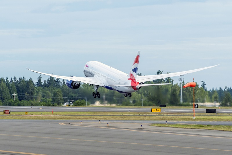 British Airways Gets First 787