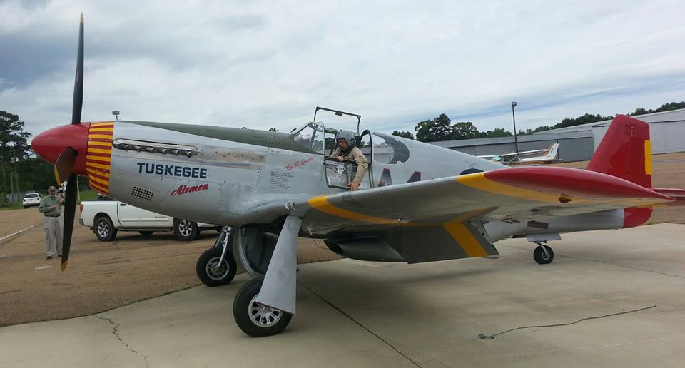 Red Tail Mustang Star of Pennsylvania Air Show