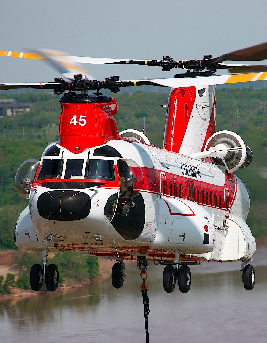 Helicopters Critical Part of New Mexico Wildfire Fight