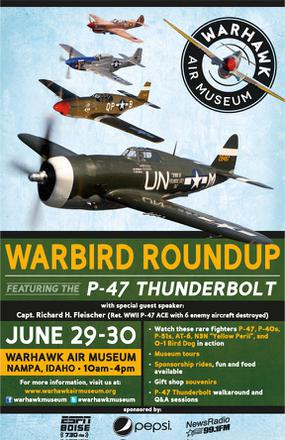 Idaho Museum to Host Warbird Roundup