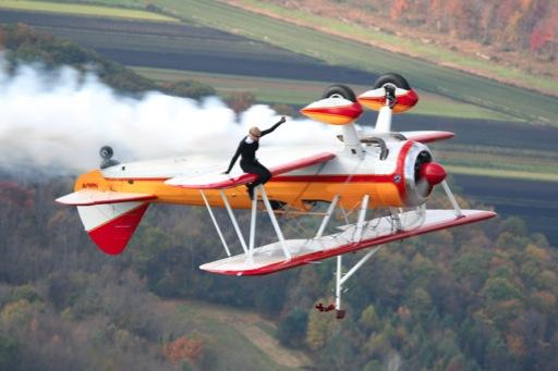 Pilot, Wingwalker Killed During Air Show