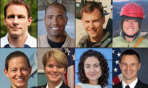 Latest Astronaut Class Includes Pilots from 4 Services
