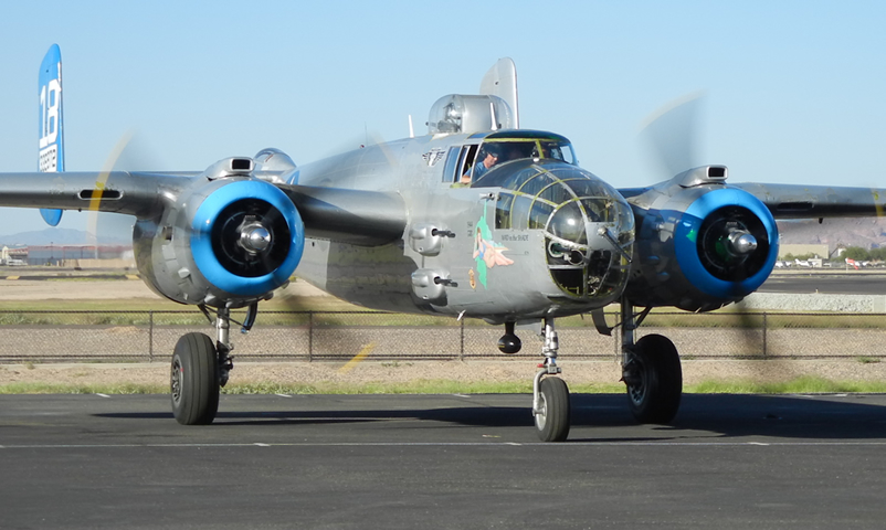 B-25 Rides Available in New Mexico