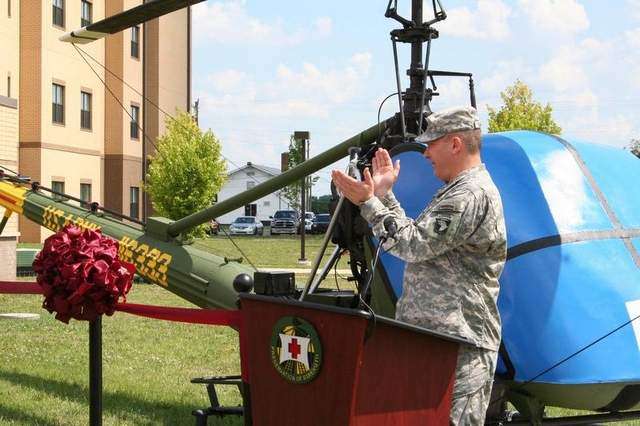 Historic Helicopter Dedicated at Home of 101st Airborne