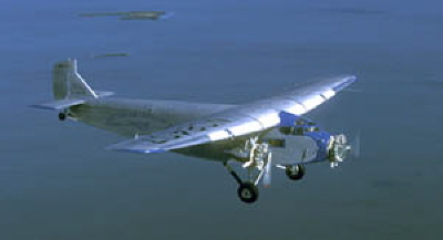 Ford Tri-Motor Available for Flights at Indiana Airport Next Week