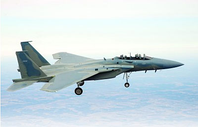 F-15SA Advanced Fighter Aircraft Takes Wing