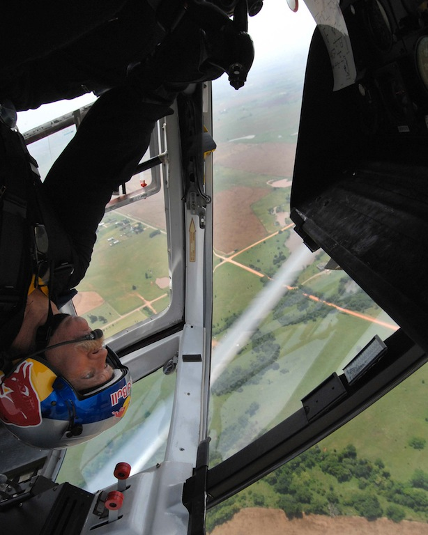 Red Bull Helicopter Pilot Calls Flying 'Magic Carpet Ride'