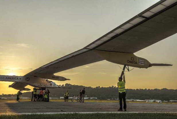Solar Impulse: Big Apple Bound