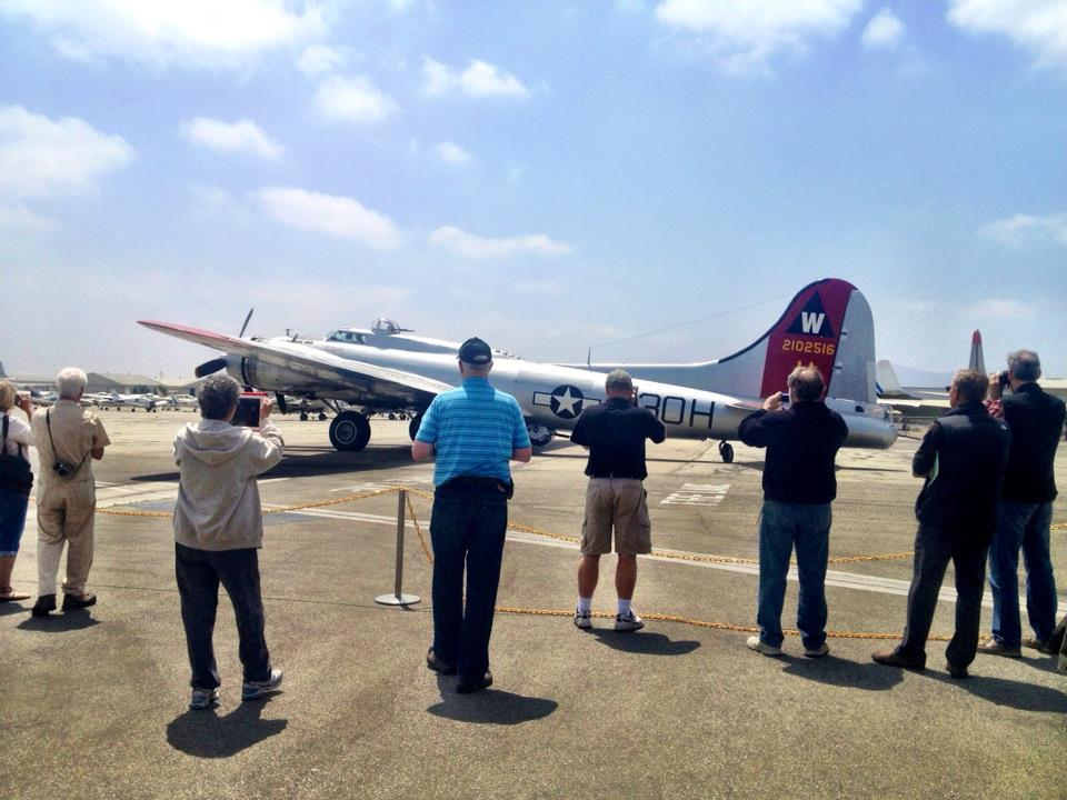 Reporter Takes Bumpy Ride in B-17