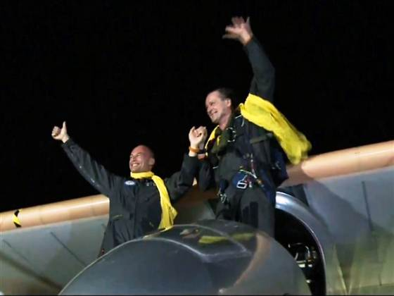 Solar Impulse Ends American Odyssey in NYC