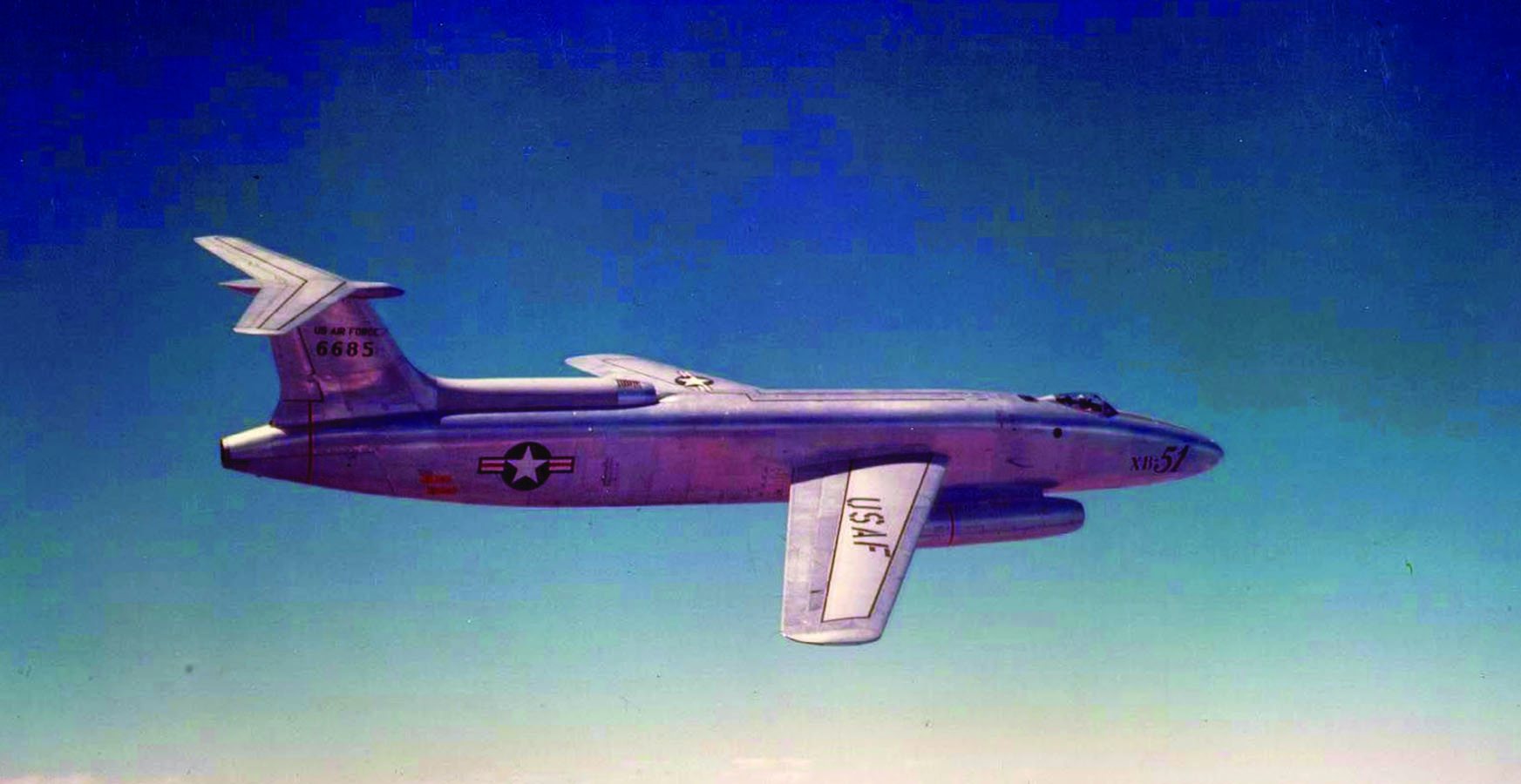 T-Tailed Tri-Jet: The Martin XB-51