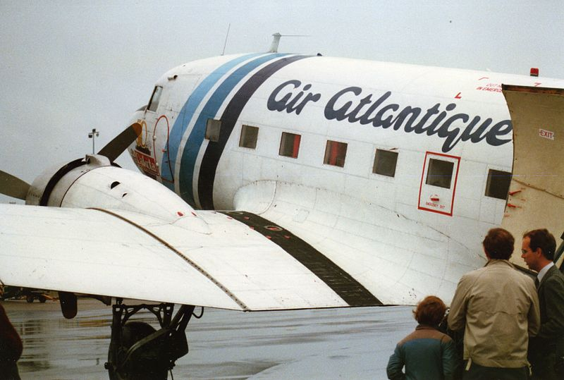 Historic DC-3 Flies to New Home in Germany