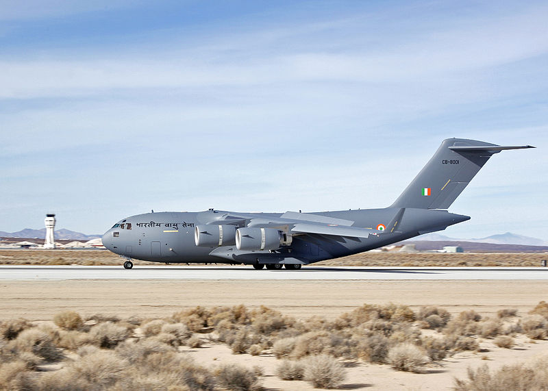 Indian C-17 Makes First Deployment
