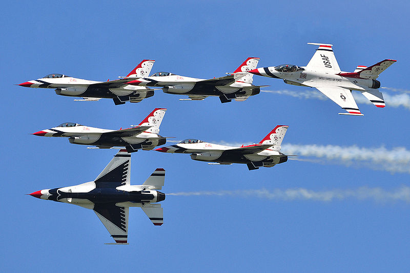 Thunderbirds Return to Skies Over Vegas