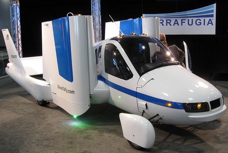 Flying Car Makes First Public Flight