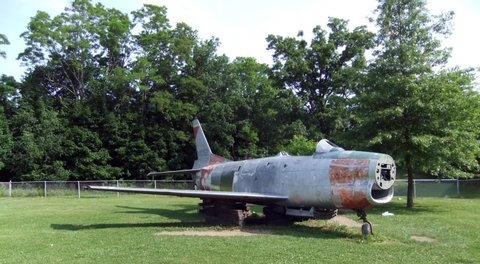 New York Park's F-86L at Crossroads