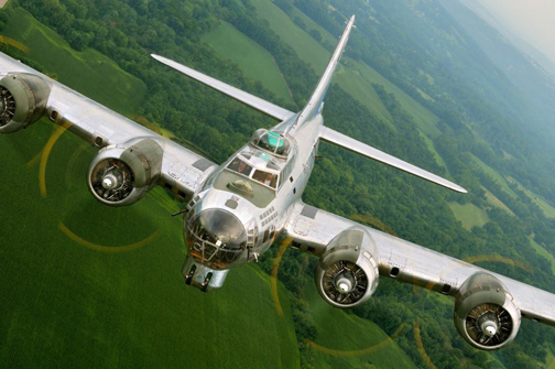 A 'Sentimental Journey' Aboard a B-17