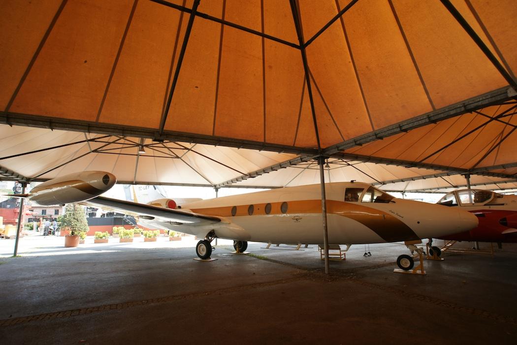 Hansa Jet Displayed in Istanbul's Koc Museum