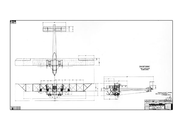 "Free: Original Drawing of Sikorsky ""Le Grand"""