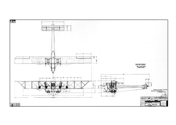 "Free: Original Drawing of Sikorsky ""Le Grand"""