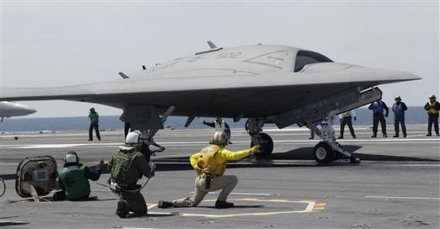 Boeing Drone to Attempt Carrier Landing