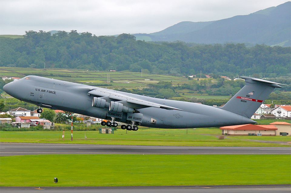 C-5A Arrives at Dover Museum