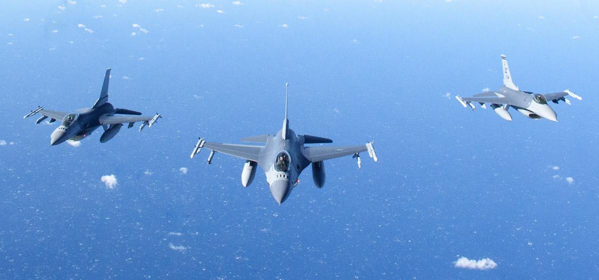 Coast Guard Rescues Downed F-16 Pilot