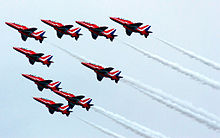 Red Arrows Begin Busy Weekend