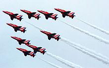 Red Arrows Begin Busy Weekend