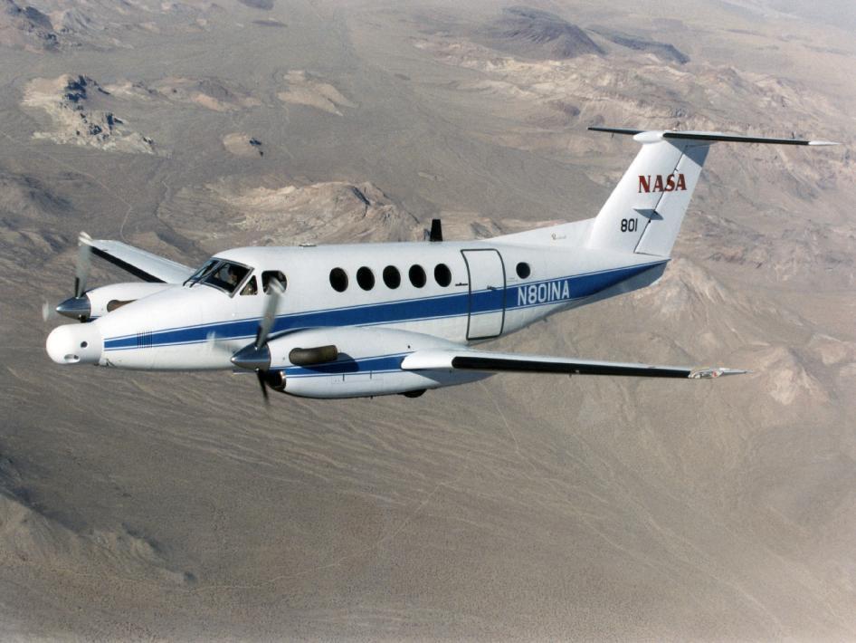 NASA Takes to Houston Skies for Study