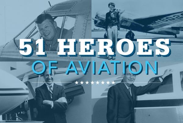 Flying Magazine's 51 Heroes