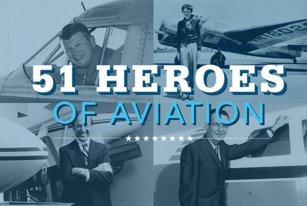 Flying Magazine's 51 Heroes