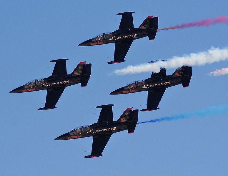 Seafair to Feature Patriots Jet Team